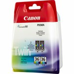 Original Canon CLI-36 Twin 1511B018 Tintenpatrone color...